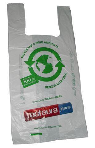 Sacolas oxiobidegradáveis são uma alternativa, porém não a solução